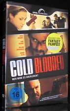 DVD COLD BLOODED (FANTASY FILMFEST 2013) - THRILLER - RYAN ROBBINS *** NEU ***