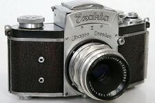 Exakta II 657875 35mm Camera With Tessar 50mm f2.8 Lens