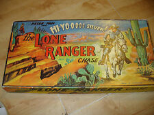 Vintage Retro THE LONE RANGER CHASE 1950'S VINTAGE Board Game Complete.