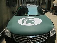 MSU Car Hood Cover, Auto Flag, Michigan State University Spartans 7 Day