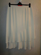 BNWT Ladies Size18 Jacques Vert Cream Coloured Fully Lined Maxi Skirt RRP £95