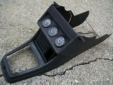 VW MK1 Cabby Cabriolet Center Console Shifter Bezel Black 172863243 ii