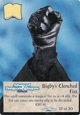 Spellfire - Artifacts Chase #12 - ARc/12 - Bigby's Clenched Fist - D&D
