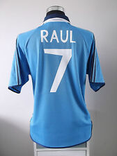 RAUL #7 Real Madrid Third Football Shirt Jersey 1999/2000 (L)