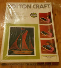 RARE VINTAGE AIRFIX OCEAN YACHT COTTON CRAFT 1970`s SAILING BOAT STILL SEALED!