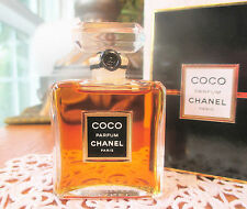 80's CHANEL COCO Pure Perfume 15ml-1/2oz CRYSTAL BOTTLE New IB Original Formula!