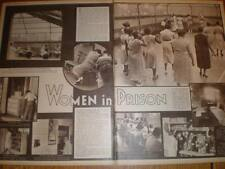 Article Photos Women's House of Detention New York 1935