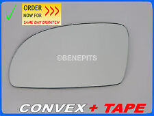 Wing Mirror Glass VW NEW BEETLE 1998-2003 CONVEX + TAPE Left Side #1040