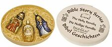 """Inge Glas """"The Holy Family"""" (Set of 3) Glass Ornaments - Made in Germany (#184)"""