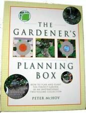 The Gardeners Planning Box by Peter McHoy 2 Hardcover Books in Gift Box New