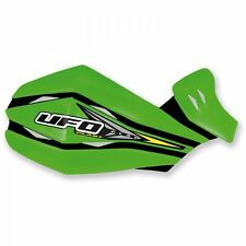 UFO UNIVERSAL CLAW MOTOCROSS HAND GUARDS KAWASAKI KX KXF GREEN 1640