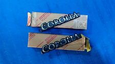 NEW GENUINE Toyota Corolla KE30 KE35 KE36 TE31 Badge/Emblem. 1Pair