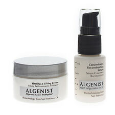 Algenist Concentrated Reconstructing Serum and Firming & Lifting Face Cream Duo