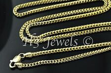 18k solid yellow gold franco chain necklace italian  22 inch 11.00 grams