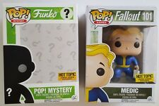 Funko POP! Mystery Fallout Hot Topic EXCLUSIVE Medic #101 Vinyl Figure NIP