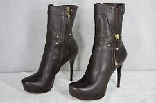 SUPER SEXY!!!  GIANMARCO LORNZI HIGH HEEL PLATFORM ANKLE BOOTS EU 36 US 6