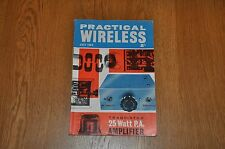 Practical Wireless Magazine July 1964 Vintage Elctronics Magazine
