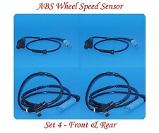 4 ABS Wheel Speed Sensor Front Rear Left&Right Fit BMW 325CI 325I 330CI 330I M3
