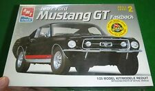 AMT 1967 FORD MUSTANG GT FASTBACK 1/25 FS MODEL CAR MOUNTAIN