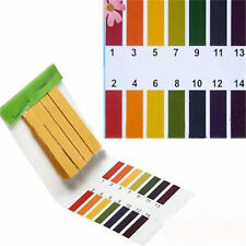 PH Tester Tropical Aquarium Cold Water Fish Tank Testing Kit 80 TEST STRIPS UK