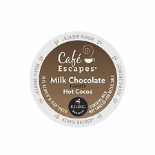 Cafe Escapes Milk Chocolate Hot Cocoa Keurig K-Cups 96-Count