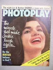 PHOTOPLAY MAGAZINE JULY 1964 MIRACLE JACKIE LAUGH AGAIN BEATLES BELIEVE IN GOD