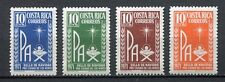 35384) COSTA RICA 1971 MNH** Christmas 4v Scott# RA49/52