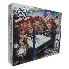 Mattel WWE Wrestling Fan Central Exclusive Tribute To The Troops Ring Includes