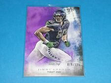 2015 Inception JIMMY GRAHAM #67 Purple SP/125 Seattle SEAHAWKS Miami HURRICANES