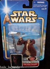 Star Wars Attack of the clones. OBI-WAN KENOBI. Jedi Starfighter Pilot New!