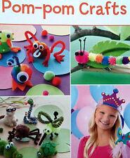 Pom-Pom Crafts  Leisure Arts  Leaflet  For Children