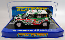 "Scalextric ""Palmeirinha"" Mini Countryman WRC DPR W/ Lights 1/32 Slot Car C3523"