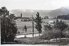 15518 Foto AK Mittel Schreiberhau im Riesengebirge Kath. Kirche Häuser 1930