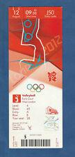 Orig.Ticket    Olympische Spiele LONDON 2012 - VOLLEYBALL 3.Platz Spiel  !!  TOP