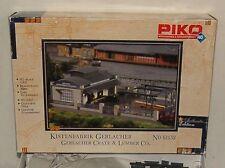 Piko 61152 1:87 H0 - Bausatz Kistenfabrik Gerlacher - ungebaut in OVP