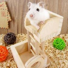 Wooden Platform Rat Mouse Hamster Lookout Tower Toy Playground Natural Exercise