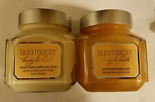 LAURA MERCIER Sweet Temptation Creme Brulee Soufflé Body Cream & Honey Bath Set