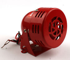 12V Car Truck Driven Air Raid Siren Horn Alarm Loud Sound Fire Security Rescue