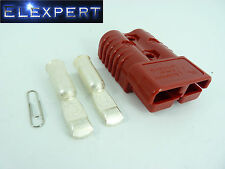ANDERSON PLUG 175 AMP - BATTERY CONNECTOR - JUMP START - SLAVE ASSIST - X1 RED