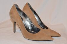 Marc Fisher classic pumps brown suede leather size 7