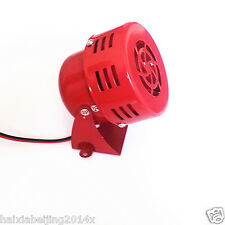 12V Driven Air Raid Siren Tornado Horn Alarm Loud Sound Fire Security For Honda