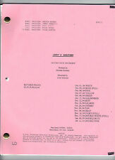 """GREY'S ANATOMY TV Show script """"The First Cut Is The Deepest"""""""