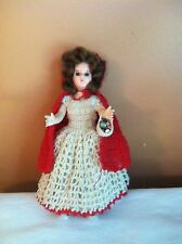 VINTAGE LITTLE RED RIDING HOOD DOLL