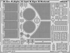 Eduard 1/35 Pz.Kpfw.VI Ausf.B Tiger II Weekend Upgrade Set # 36324