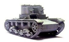 Milicast BR66 1/76 Resin WWII Russian T26 Twin Turreted Light Tank (Model 1931)