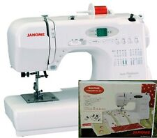 Janome Jem Platinum 720 Sewing Machine 3/4 Size Compact + FREE Quilting Kit