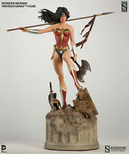 SIDESHOW EXCLUSIVE WONDER WOMAN Premium FORMAT FIGURE STATUE NEW!! Bust Figurine