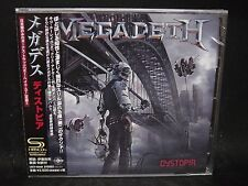 MEGADETH Dystopia +1 JAPAN SHM CD Metallica Angra MD.45 Metal Alligiance Soulfly