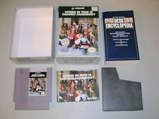 WHERE IN TIME IS CARMEN SAN DIEGO? (NES Nintendo) Complete CIB