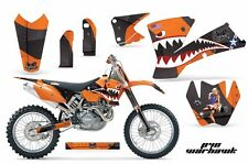AMR Racing KTM C1 SX SXS EXC MXC Graphics Kit Bike Decal Sticker Part 01-04 WH O